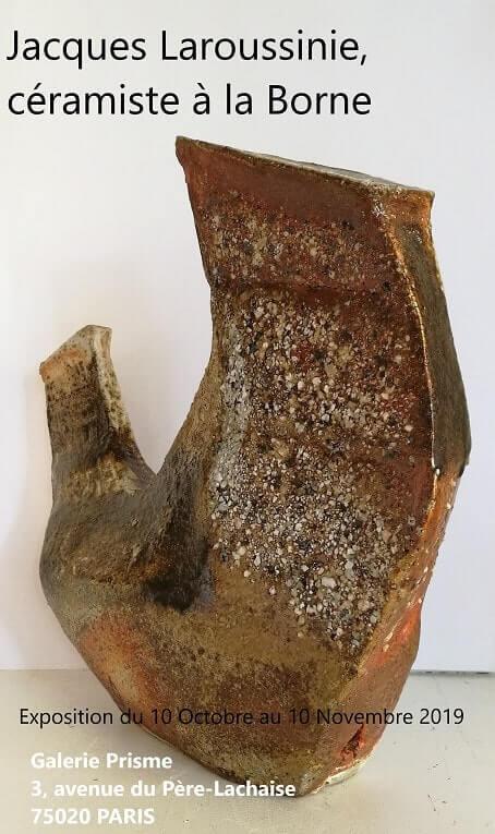 Exposition de Jacques Laroussinie à la Galerie Prisme